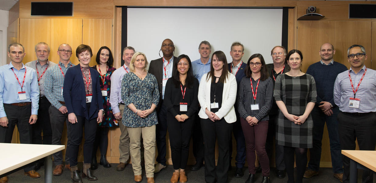 Members of the Programme Advisory Committee of Lassa Biostandards at the kick-off meeting held at the National Institute of Biological Standards and Control